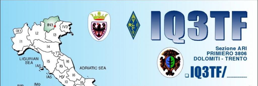 A.R.I.  PRIMIERO  -  IQ3TF